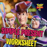 TOY STORY 4 WORKSHEET │ SIMPLE PRESENT PRACTICE │ READING