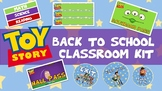 CLASSROOM THEME: TOY STORY CLASSROOM LABELS, NAME TAGS, BA