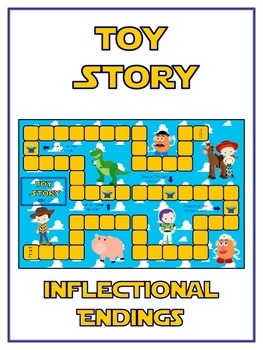 TOY STORY Inflectional Word Endings - ELA First Grade Game