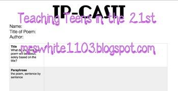 TP-CASTT Handout