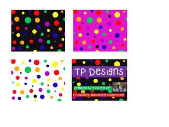TP Dot Variety Background FREEBIE
