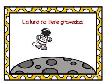 TPR Lesson to teach about  La Luna (The Moon) Teacher Book