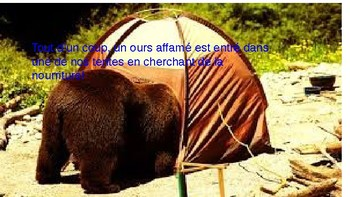 TPR: Le Camping et les Animaux p.c. and imperfect
