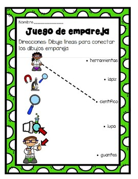 TPR Lesson I am a Scientist/ Yo soy cientifico Games