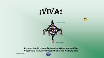¡VIVA! Set 1 - Comprehensible Input -  Listening Spanish 1