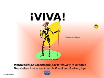 ¡VIVA! Set 10 - Comprehensible Input - Listening - Spanish 1
