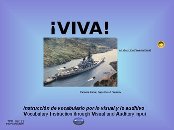 ¡VIVA! Set 13 - Comprehensible Input - Listening - Spanish 1