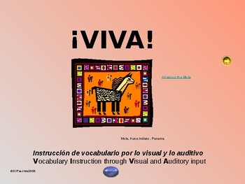 ¡VIVA! Set 5 - Comprehensible Input - Listening  Spanish 1