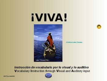 ¡VIVA! Set 7 - Comprehensible Input - Listening - Spanish 1