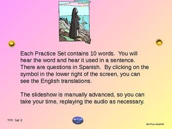 ¡VIVA! Set 8 - Comprehensible Input - Listening - Spanish 1