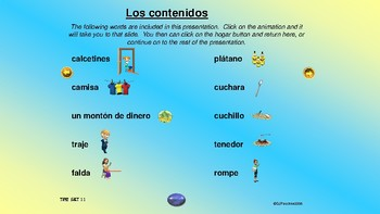 ¡VIVA! Sets 10 and 11 - Comprehensible Input - Spanish 1