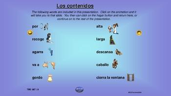 ¡VIVA! Sets 12 and 13 - Comprehensible Input - Listening - Spanish 1