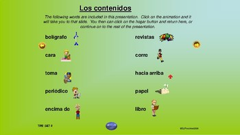 ¡VIVA! Sets 6 and 7 - Comprehensible Input - Listening - Spanish 1