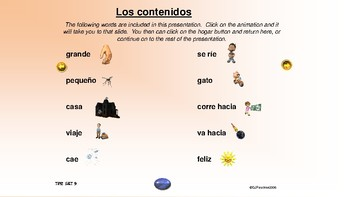¡VIVA! Sets 8 and 9 - Comprehensible Input - Listening - Spanish 1