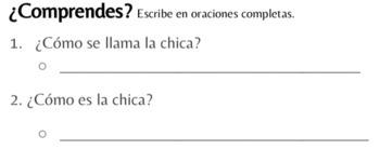 Descubre el español B - Unidad 4 - TPRS - Carmen quiere un unicornio