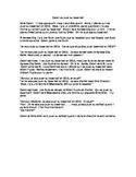 TPRS French 1 reading (327 words): Calvin va jouer au base-ball