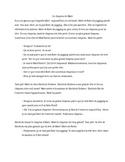 TPRS French 1 reading (312 words): Le chapeau de Matt