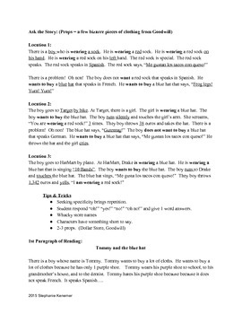 TPRS Guide - Structures to Reading