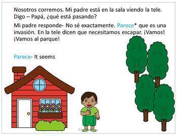 TPRS Spanish short story about places to go using high frequency verbs