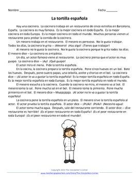 Spanish Food Story - La tortilla española