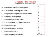 TPRS Story Order Activity - The Present
