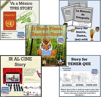 TPRS Storytelling Bundle