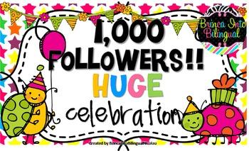 TPT 1,000 Followers FREEBIE #2
