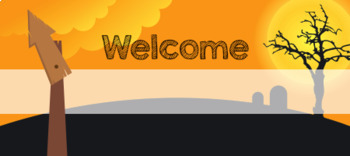 TPT Animated Banner - HALLOWEEN