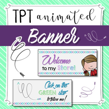 TPT Animated Banner • Personal Quote Box GIF for TPT Sellers