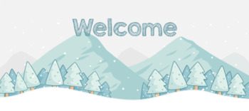 TPT Animated Banner - WINTER / CHRISTMAS