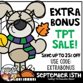 TPT BONUS SALE Day Banner {Creating4 the Classroom}