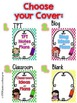 TPT, Blog, & Classroom Notebook Covers- Editable!!