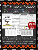 TPT Business Planner {Teachers Circle Club Item!} **NEWLY