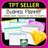TPT Business Success Planner - Organizers & Planners for Your TPT Success