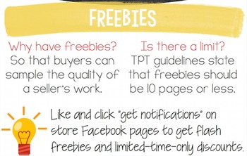 TPT Buyers Guide Infographic: insider tips for buyers