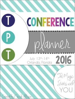 TPT Conference Planner 2016 {Free}