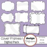 TPT Cover Frames: Pack 1