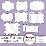 TPT Cover Frames: Pack 1