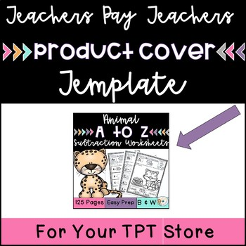 TPT Product Cover  Template