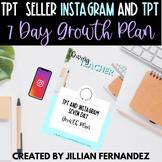 TpT Seller Instagram & TpT Growth Plan