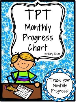 TPT Monthly Progress Chart