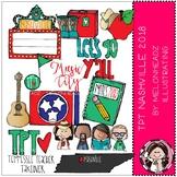 TPT Nashville Conference clip art 2018 - COMBO PACK - by Melonheadz