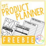 TPT PRODUCT PLANNER // FREEBIE // 2020 PLANNER ALSO AVAILABLE