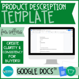 TPT Product Description Template FOR SELLERS