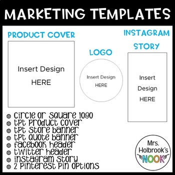TPT Resource - Marketing Templates