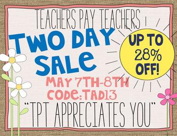 TPT Sale Graphics