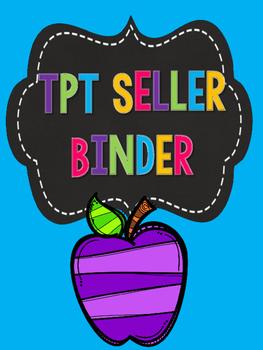 TPT Seller Binder