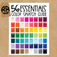 TPT Seller Clipart Rounded Squares in 56 Colors