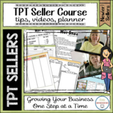 TPT Seller Course Tips Videos Planner and More