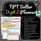 TPT Seller Digital Planner w/ Google Sheets